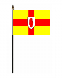 Ulster Hand Flag - Small.